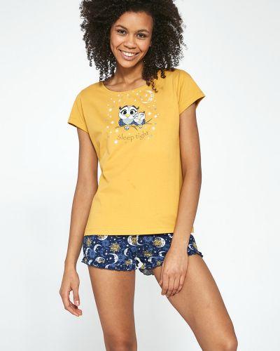 Пижамная домашняя хлопковая пижама с шортами Cornette