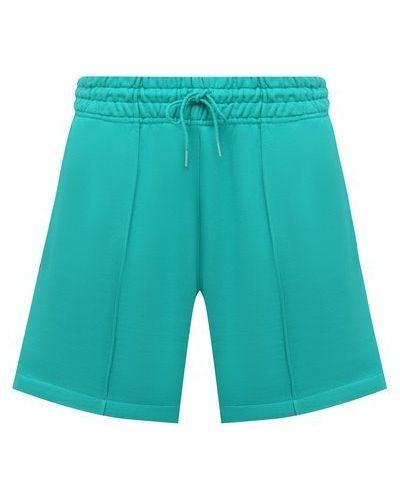 Хлопковые шорты - зеленые Agolde