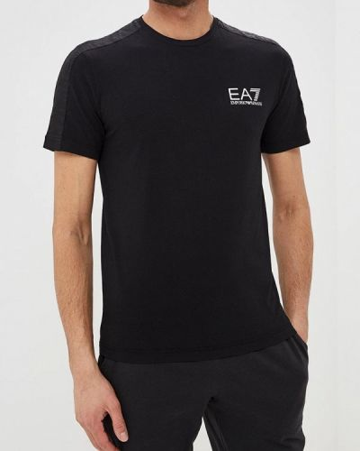 Футболка черная Ea7