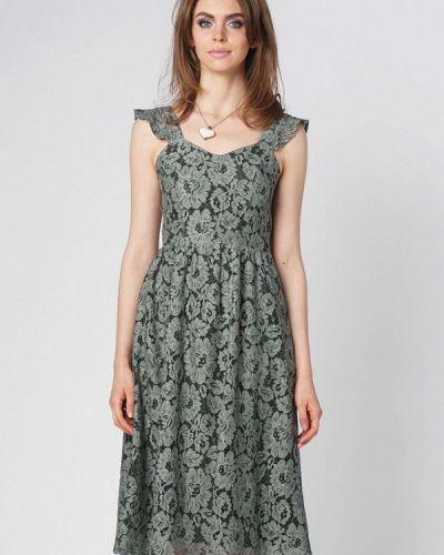 Вечернее платье - хаки Oks By Oksana Demchenko