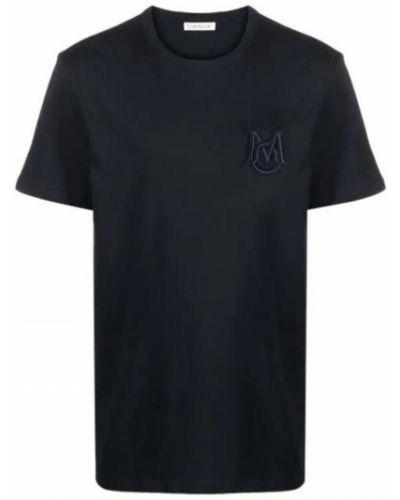 T-shirt z haftem Moncler