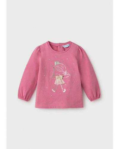 Różowa bluzka Mayoral