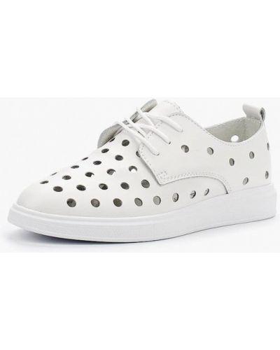 Белые кожаные туфли Rio Fiore