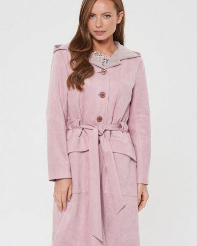 Пальто демисезонное розовое Akimbo
