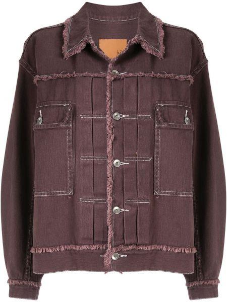 Куртка с бахромой - фиолетовая G.v.g.v.