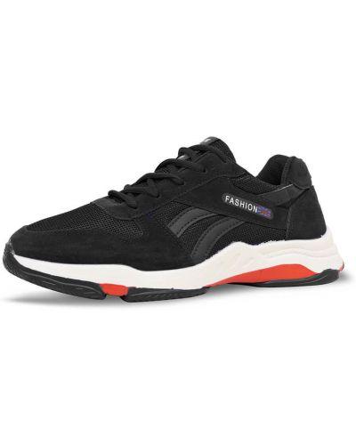 Текстильные кроссовки - черные Dual