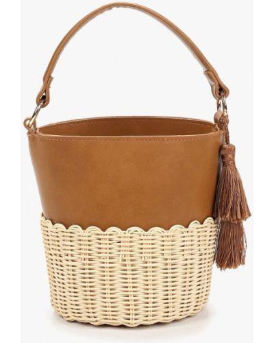 Кожаный сумка соломенная из искусственной кожи Aldo