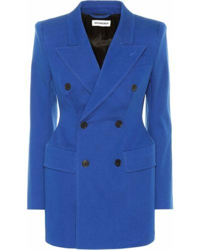 Классический пиджак синий Balenciaga