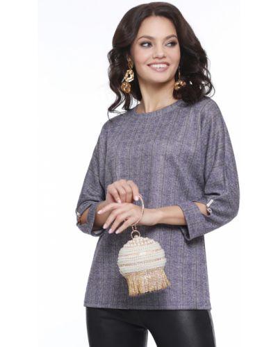 Трикотажная блузка с вырезом свободного кроя Dstrend