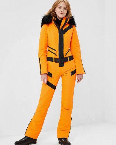 Оранжевый комбинезон горнолыжный Odri