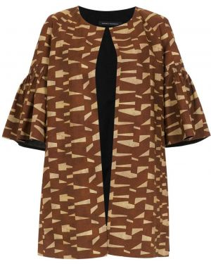 Коричневое пальто Andrea Marques