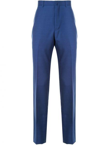 Прямые брючные льняные прямые брюки с карманами D'urban