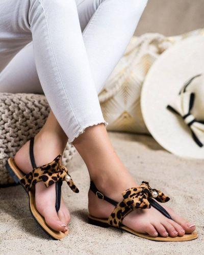 Sandały z kokardą Seastar