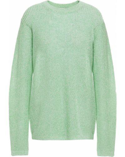 Zielony sweter bawełniany Tibi