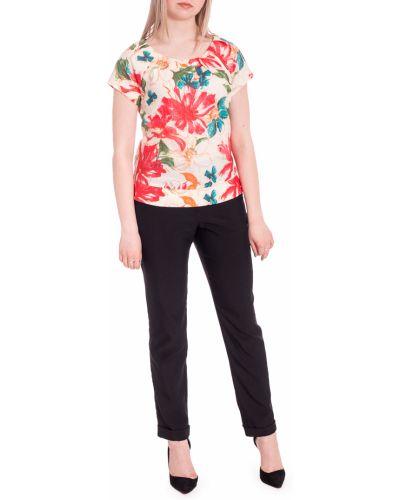 Блузка с коротким рукавом коралловый на выпускной Lacywear