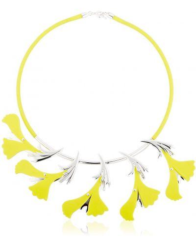 Żółty naszyjnik silikon Ek Thongprasert