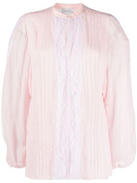 Кружевная блузка - розовая Giambattista Valli