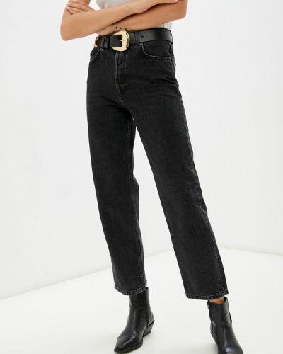 Черные зимние джинсы Selected Femme