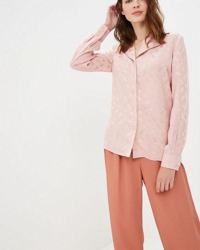 Розовая блузка с длинным рукавом Gregory