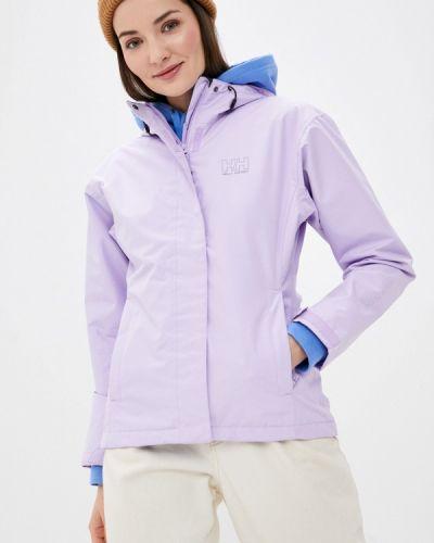 Фиолетовая куртка Helly Hansen