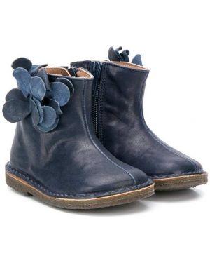 Ботинки кожаные на молнии Pèpè
