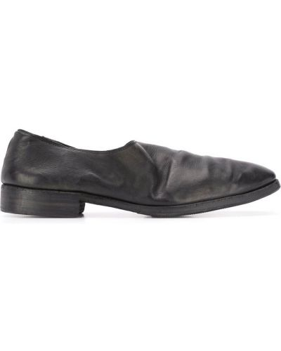 Loafers - czarne Guidi