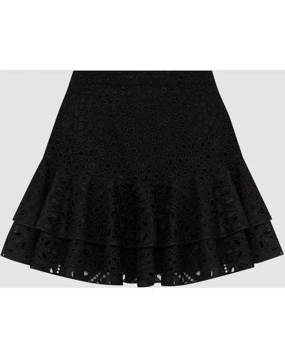 Черная платье мини Charo Ruiz