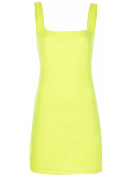 Платье макси длинное - желтое Cynthia Rowley