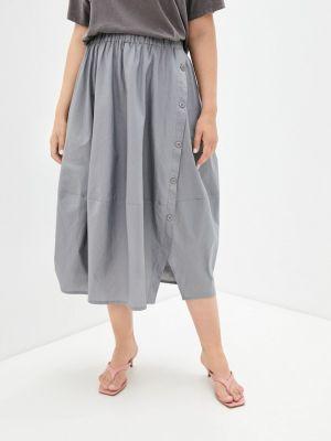 Серая юбка Chic De Femme