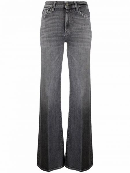 Серые джинсовые джинсы 7 For All Mankind