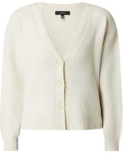 Biały sweter z dekoltem w serek Vero Moda