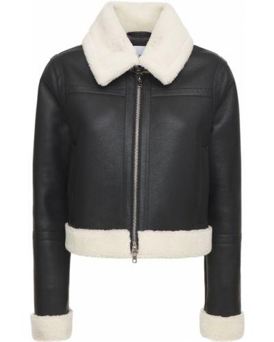 Куртка с воротником - черная Stand Studio