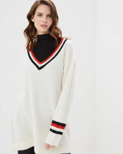 Пуловер белый By Swan
