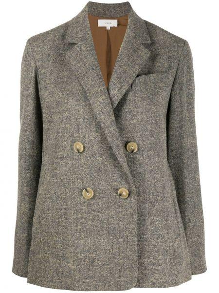 Шерстяная серая куртка Vince