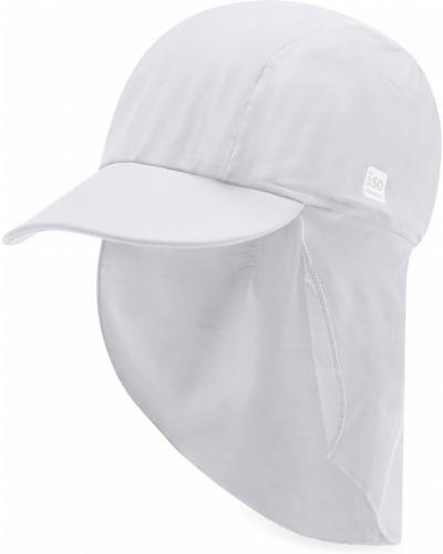 Biała czapka z daszkiem Reima