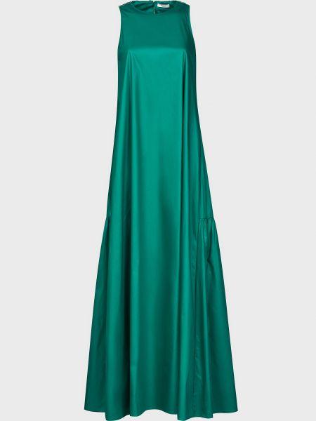Хлопковое платье - зеленое Peserico