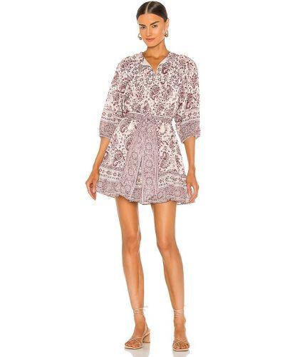 Деловое платье мини с декольте с подкладкой Cleobella