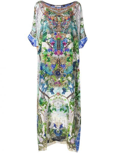 Платье летучая мышь с рукавами Camilla