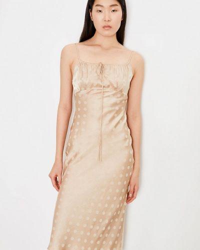 Бежевое платье Lime