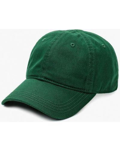 Зеленая бейсболка Lacoste