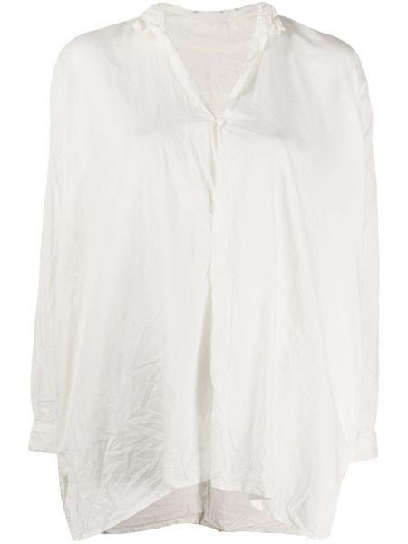 С рукавами белая рубашка с воротником на пуговицах Daniela Gregis