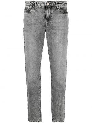 Прямые джинсы классические - серые Karl Lagerfeld