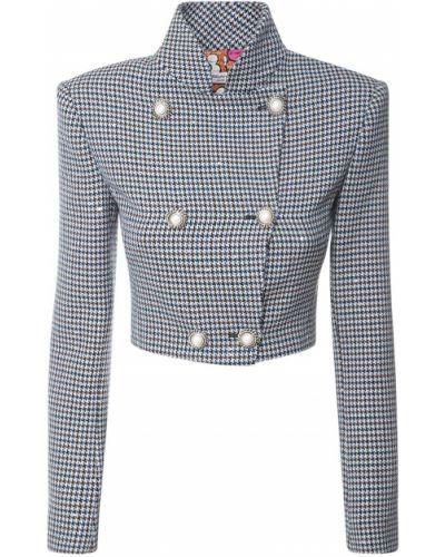 Укороченная куртка с пайетками с подкладкой Alessandra Rich