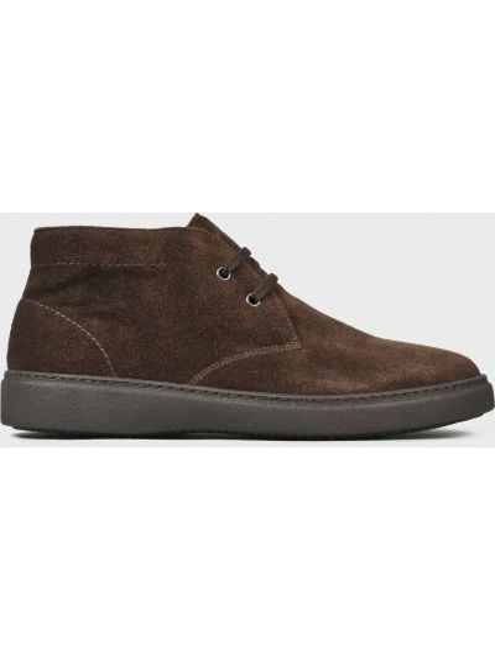 Текстильные ботинки - коричневые Frau
