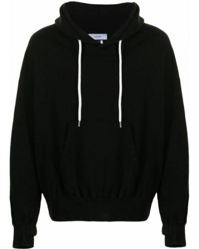Czarna bluza z kapturem bawełniana Facetasm