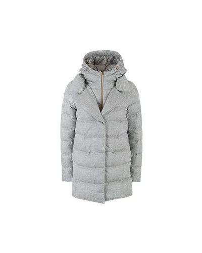 Серая куртка Herno