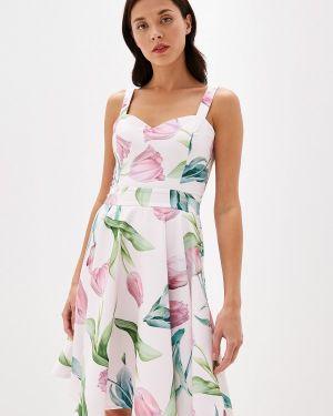 Платье розовое прямое Fashion.love.story