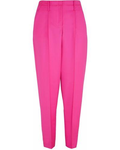 Шерстяные брюки - розовые Edun