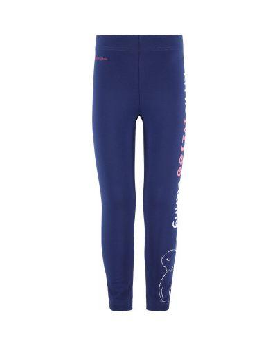 Облегающие фиолетовые хлопковые брюки Outventure