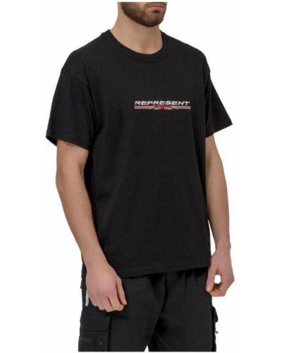 Czarny t-shirt Represent